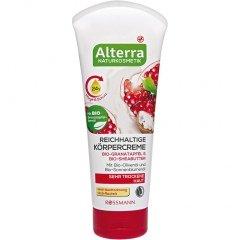 Reichhaltige Körpercreme Bio-Granatapfel & Bio-Sheabutter von Alterra