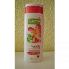 Duschgel - Frangipani & Bio-Holunderblüte von Alterra