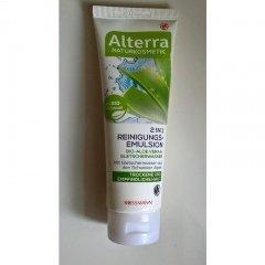 2 in 1 Reinigungs-Emulsion Bio-Aloe Vera & Gletscherwasser von Alterra