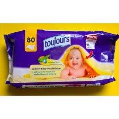 Comfort Baby-Feuchttücher von Toujours