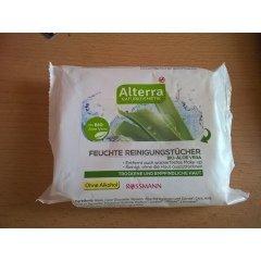 Feuchte Reinigungstücher mit Bio-Aloe Vera von Alterra