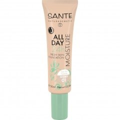 All Day Moisture 24h Fresh Skin Foundation von Sante