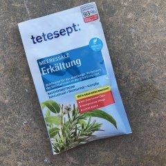 Meeressalz - Erkältung - Badekosmetikum - Eukalyptusöl + Rosmarinöl + Kampfer von tetesept