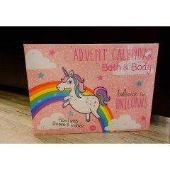 Believe in Unicorns - Advent Calendar Bath & Body von Accentra