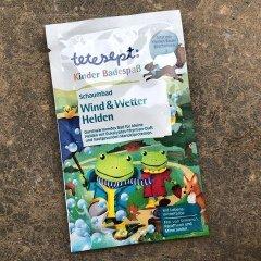 Kinder Badespaß - Schaumbad - Wind & Wetter Helden von tetesept
