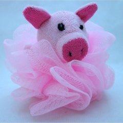 Duschknäuel   Schwein