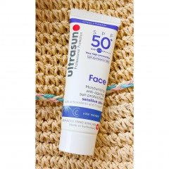 Face SPF 50  Moisturising Anti-Aging Sun Protection Sensitive Skin von Ultrasun