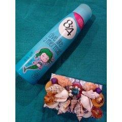 Dive Like A Mermaid - Blue Lotus, Waterlily & White Peach von 8x4