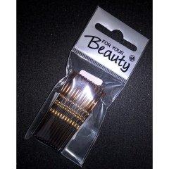 Haarklemmen 5 cm Braun von For Your Beauty
