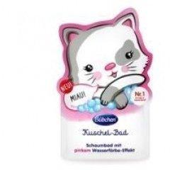 Kuschel-Bad - Schaumbad mit pinkem Wasserfärbe-Effekt von Bübchen