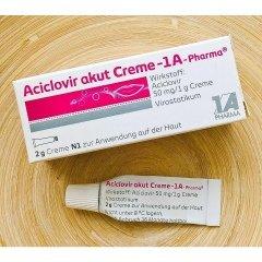 Aciclovir Akut Creme von 1A Pharma