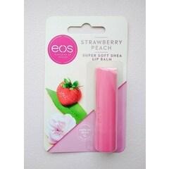 Strawberry Peach Super Soft Shea Lip Balm von eos