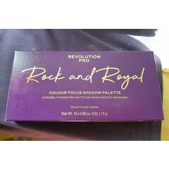 Colour Focus Shadow Palette - Rock and Royal