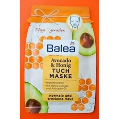 Avocado & Honig Tuchmaske von Balea