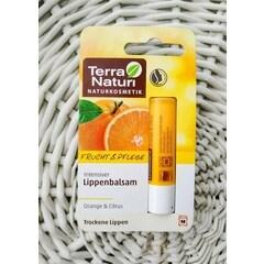 Intensiver Lippenbalsam Orange & Citrus von Terra Naturi