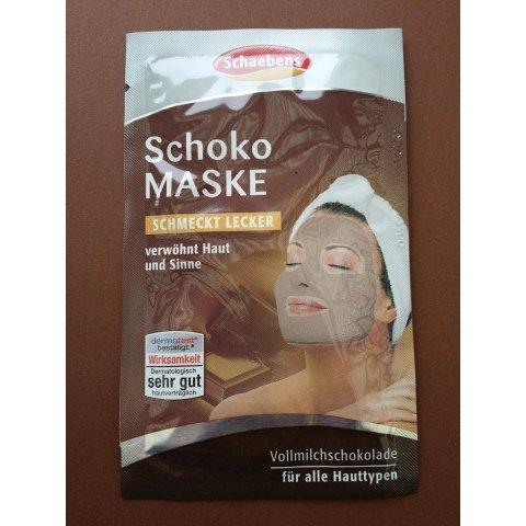 Schoko Maske von Schaebens