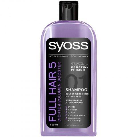 Full Hair 5 - Dichte & Volumen Booster Shampoo von Syoss