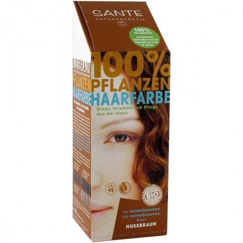 100% Pflanzen Haarfarbe - Nussbraun von Sante