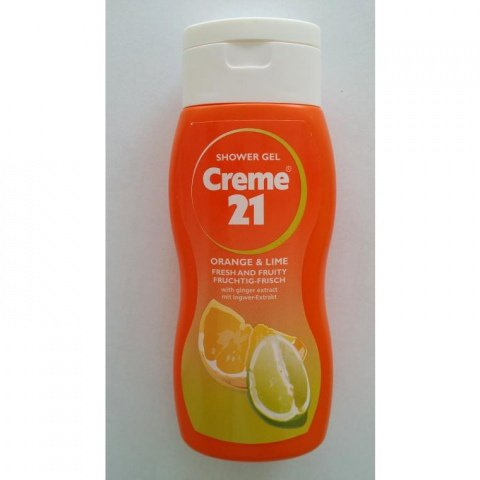 Shower Gel - Orange & Lime von Creme 21
