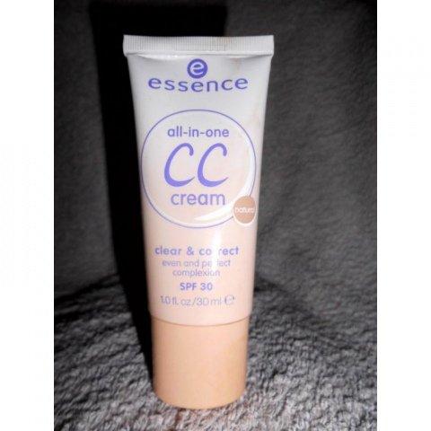all-in-one - CC cream clear & correct von essence