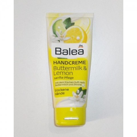 Handcreme - Buttermilk & Lemon von Balea