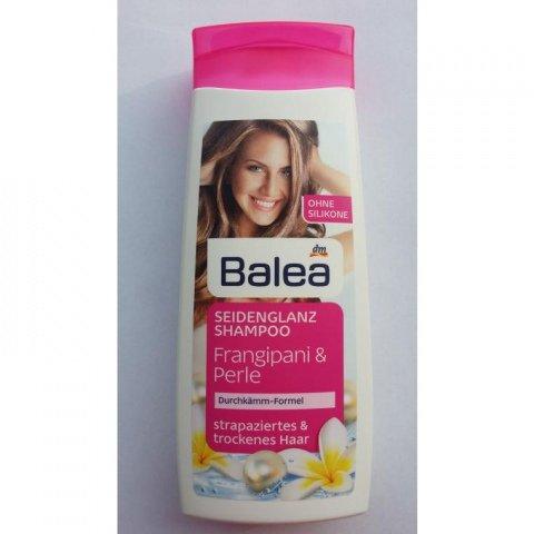 Seidenglanz Shampoo - Frangipani & Perle von Balea