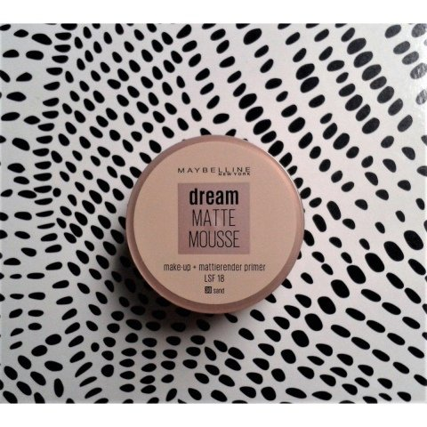 Dream Matte Mousse Make-Up von Maybelline