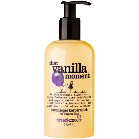 That Vanilla Moment - Davonsegel Körpermilch von treaclemoon