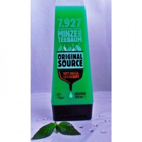 7927 erfrischende Blätter Minze und Teebaum Duschgel von Original Source