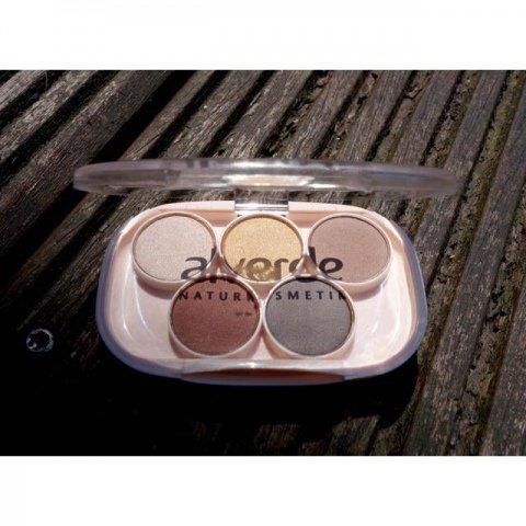 Natural Brightness - All about nude Lidschatten Box von alverde