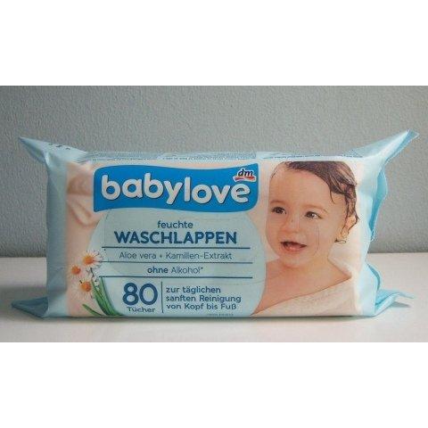 Feuchte Waschlappen von babylove