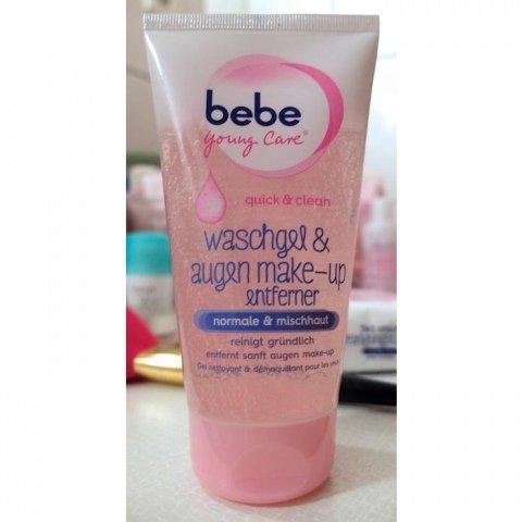 Young Care -  Quick & Clean Waschgel & Augen Make-up Entferner normale & Mischhaut von Bebe