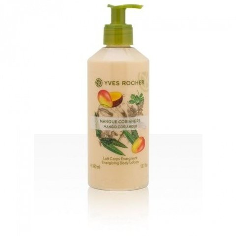 Les Plaisirs Nature - Mango Coriander Energizing Body Lotion von Yves Rocher