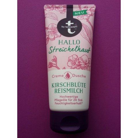 Creme Dusche - Hallo Streichelhaut - KIrschblüte Reismilch von t: by tetesept
