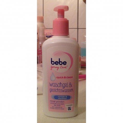 Young Care - Quick & Clean - Waschgel & Gesichtswasser normale & Mischhaut von Bebe