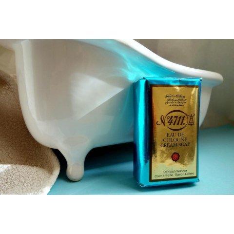 Echt Kölnisch Wasser Original Eau de Cologne - Creme Seife von 4711