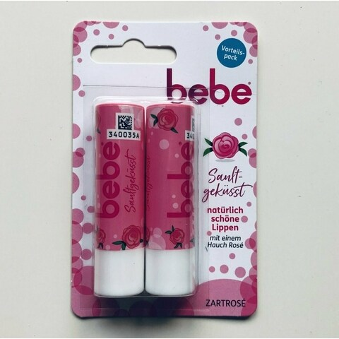 Young Care - Lippenpflege Zartrosé von Bebe