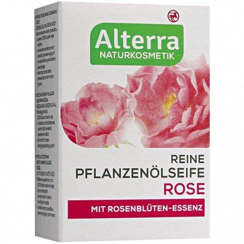 Reine Pflanzenölseife Rose von Alterra