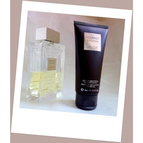 Hommage à l'Homme - Perfumed Hair and Body Shower Gel von Lalique
