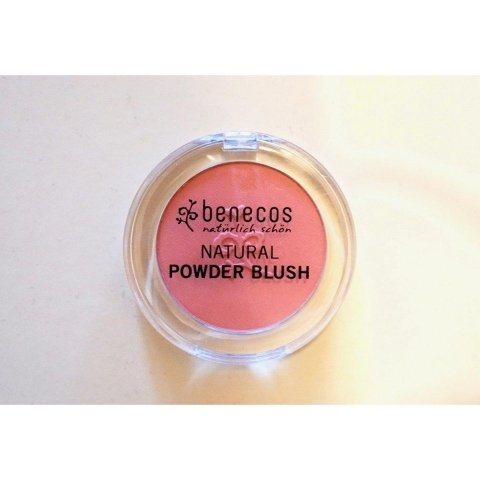 Natural Powder Blush von benecos