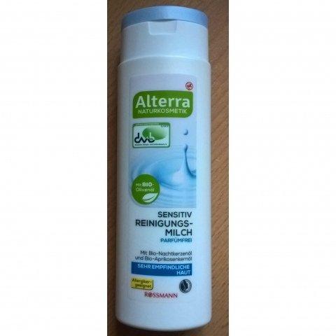 Sensitiv Reinigungsmilch Parfümfrei von Alterra