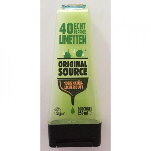 40 echt peppige Limetten Duschgel von Original Source