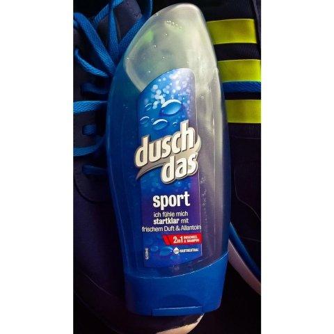 sport Ich fühle mich startklar 2in1 Duschgel & Shampoo von duschdas