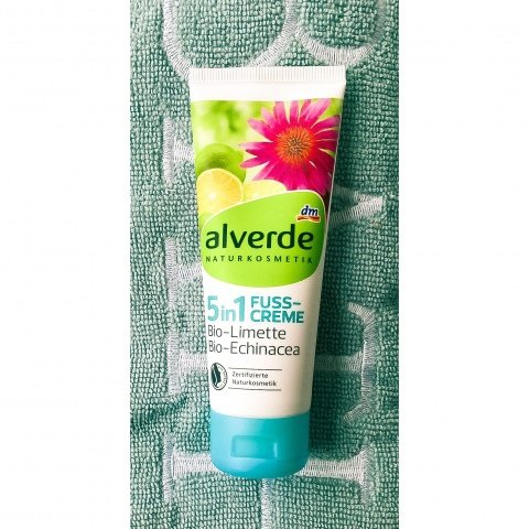 5in1 Fuss-Creme Bio-Limette Bio-Echinacea von alverde