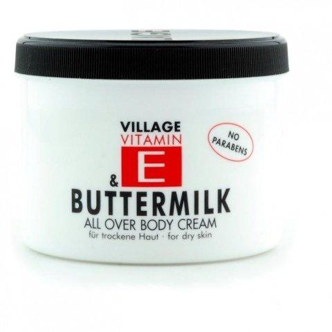 Vitamin E Buttermilk All Over Body Cream von Village