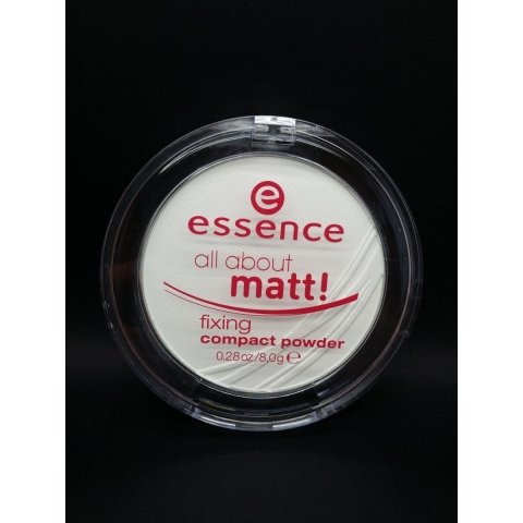 all about matt! - fixing compact powder von essence