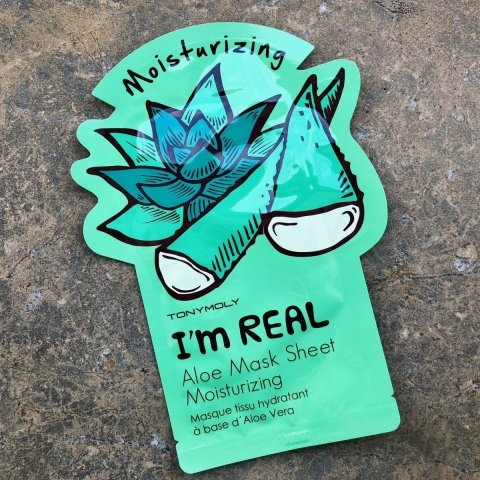 I'm Real Aloe Mask Sheet Moisturizing von TonyMoly