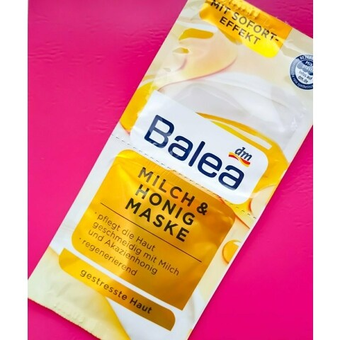 Milch & Honig Maske von Balea