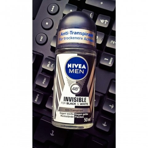 Nivea Men - Invisible for Black & White - Anti-Transpirant - Roll-on von Nivea