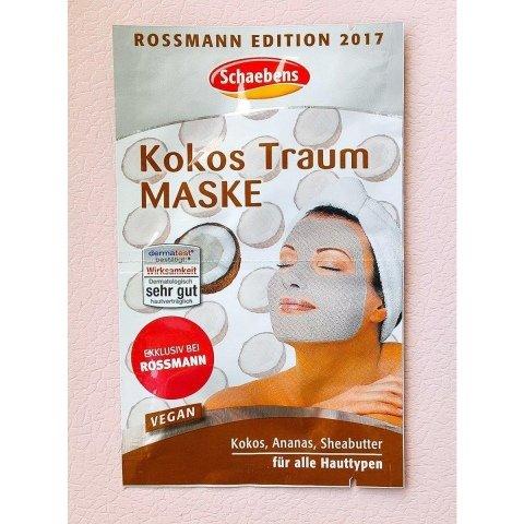 Kokos Traum Maske - Rossmann Edition 2017 von Schaebens